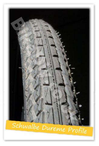 Schwalbe Dureme Tyre Profile